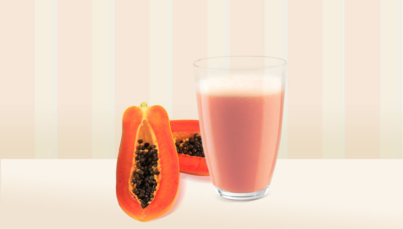 Papaya Juice Slow Juicer : Anti-Flu Papaya Smoothie - More Juice Press
