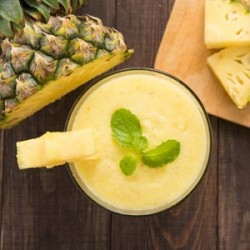 Pineapple Smoothie for Stronger Immunity and Bones