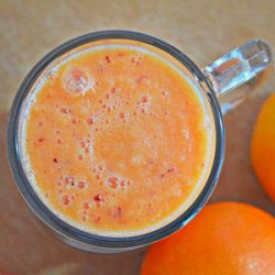 High-Fiber Carrot Juice for Your Digestive System