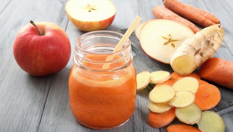 Freshly Made Apple Juice