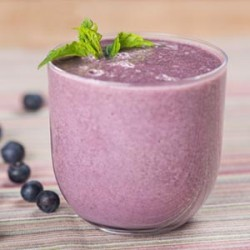 Antioxidant Rich Blueberry Smoothie