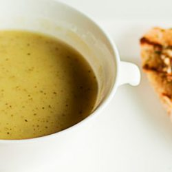 Potato Soup to Soothe an Inflamed Stomach